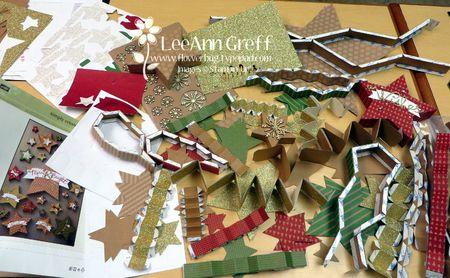 Many Merry Stars kit contents