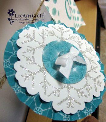 Joy Banner snowflake 1