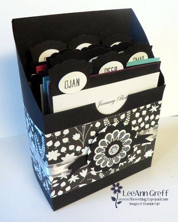 Birthday keeper box