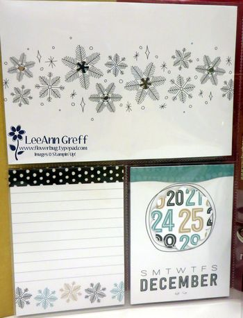 Snowflakes page.