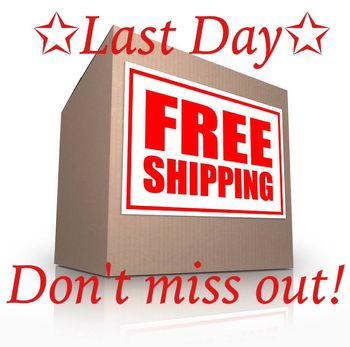 Free shipping last day