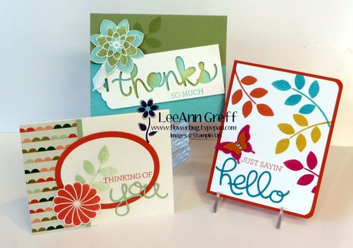 Crazy About You cards.