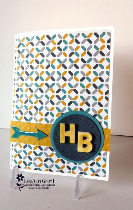 Pop-up window birthday card