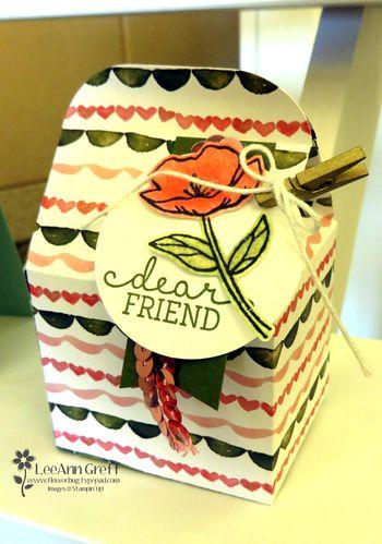 Birthday blooms box.