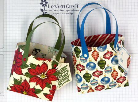 Home for Christmas gift bags