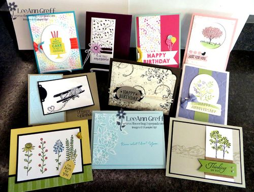 January Card Buffet.