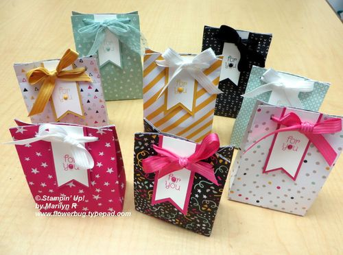 It's My Party boxes by Marilyn