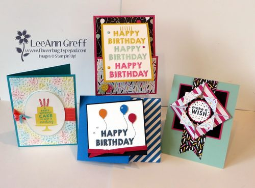 Party Wishes cards.