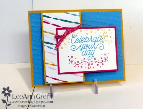 Festive Birthday Flap card.