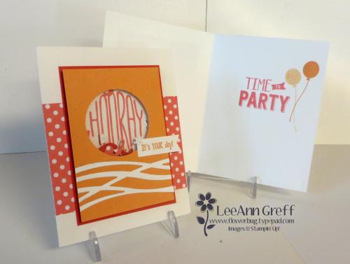 Confetti Celebration shaker card