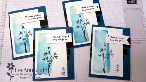Artistically Asian cards
