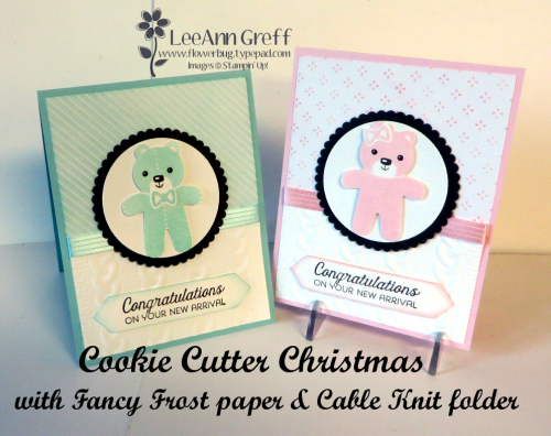 Cookie Cutter Christmas baby bears