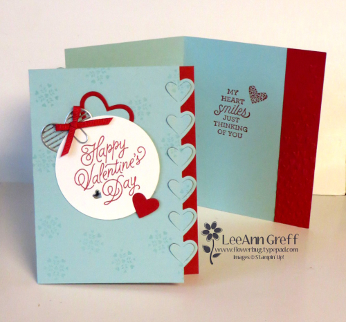 January Sealed with Love card