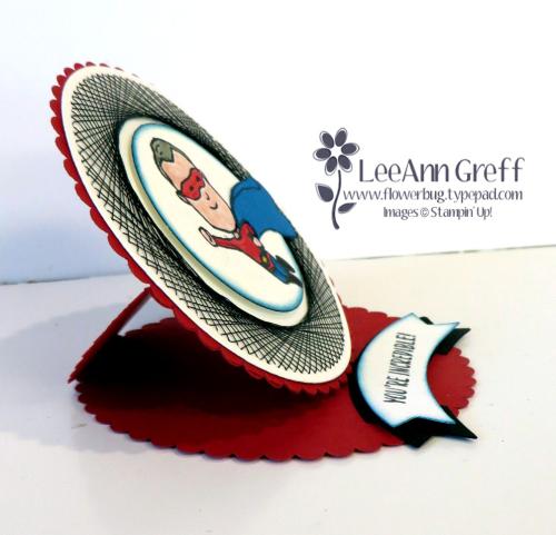 Paper Embroidery mini card