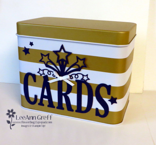 Sale a Bration Card tin