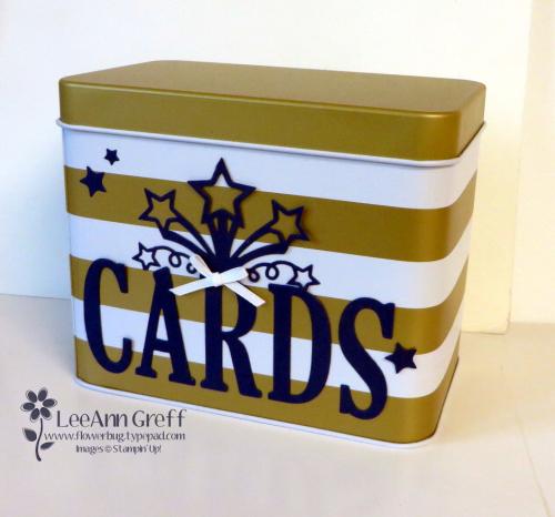 Sale a Bration Card tin