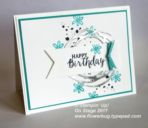 Swirly Bird birthday