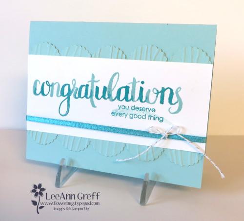 Congratulations scallop