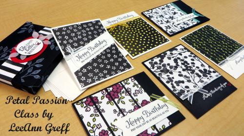 Petal Passion cards