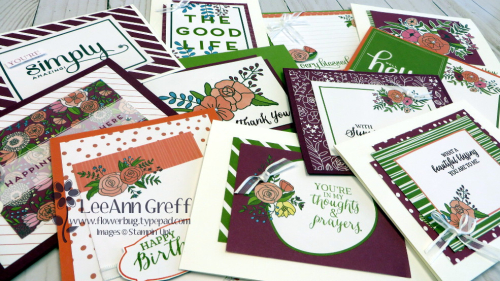 Sweet soiree cards all