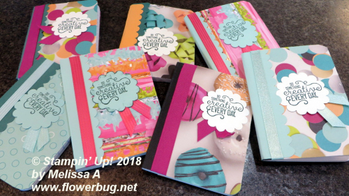 Picture Perfect Birthday notebooks