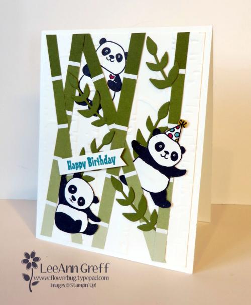Party Pandas bamboo