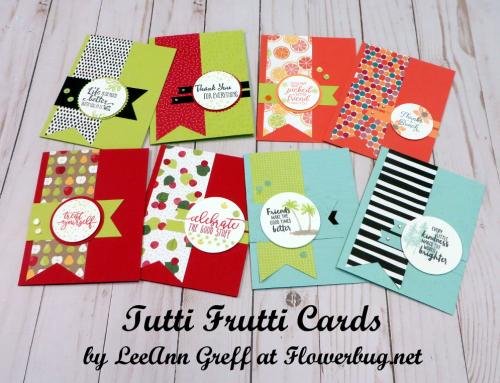 Tutti Frutti cards
