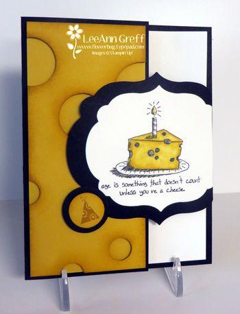 August Club cheese card
