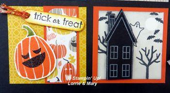 Halloween Lorrie & Mary