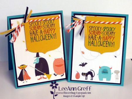 Motley Halloween card