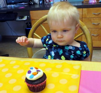 1st cupcake