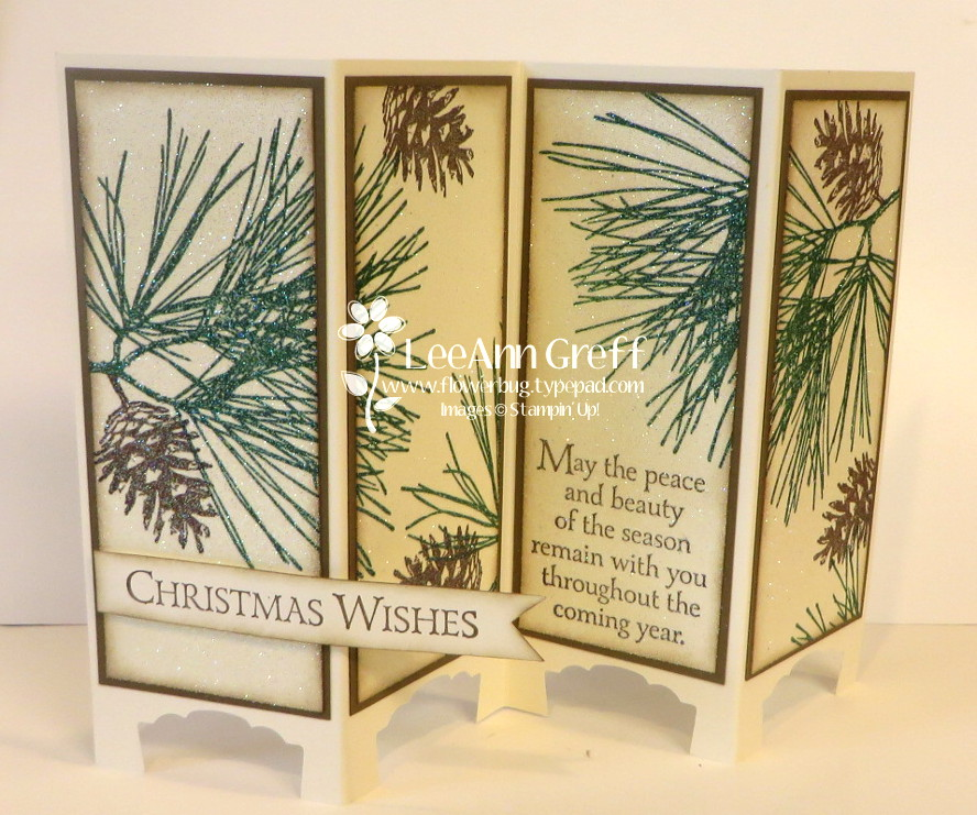 Nov Club Ornamental Pines Screen Card