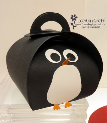 Curvy Keepsake Penguin.