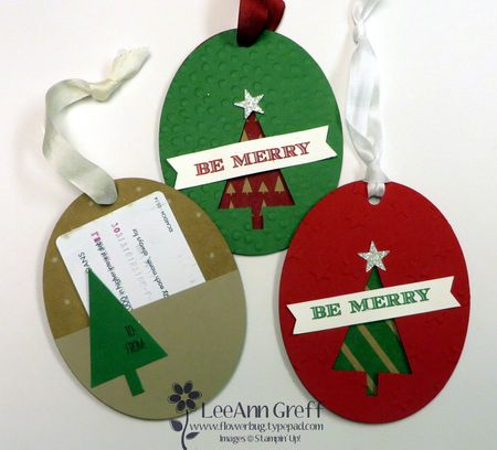 Christmas Ornament Gift Card holders