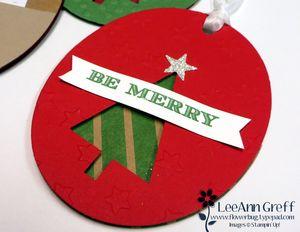 Christmas Gift Card Ornament