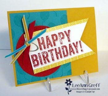 Birthday Surprise workshop card