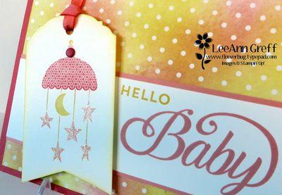 Celebrate Baby close up.