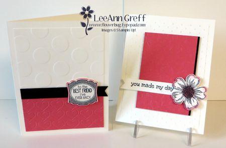 April kit cards Strawberry Slush.