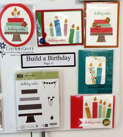 Build a Birthday cards board