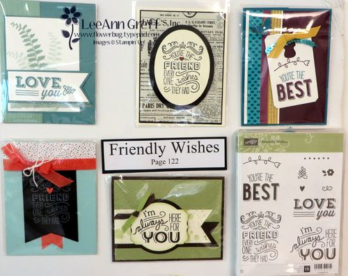 Friendly Wishes cards board