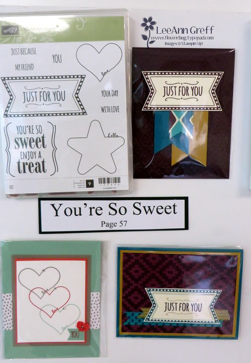 You're so Sweet cards