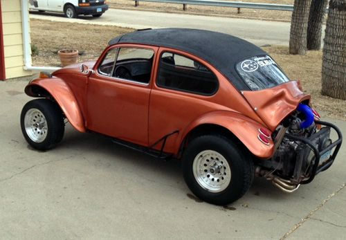 VW bug after paint