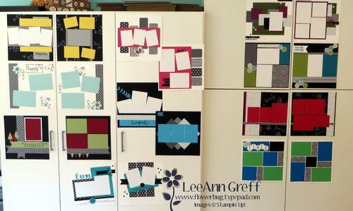 2015 Scrapbook wonder layouts