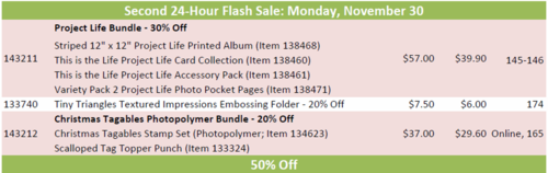 Online 24 hour flash sale