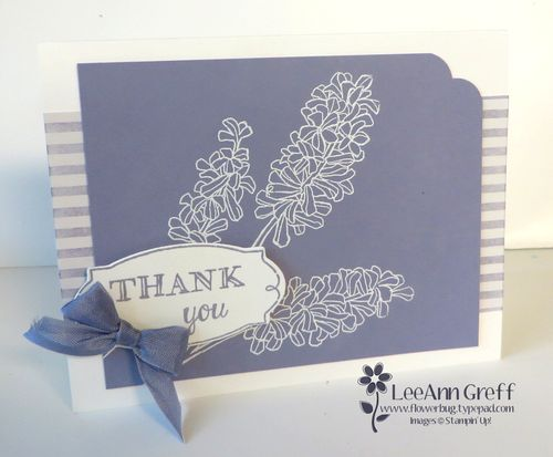 Grow With Me Wisteria embossed