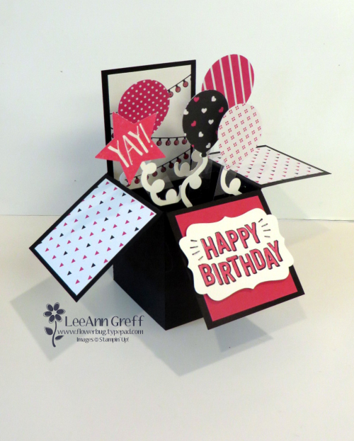 Confetti Celebration Box card