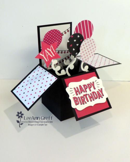 Confetti Celebration Box card
