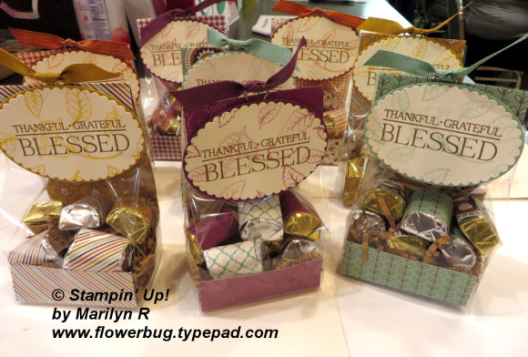 Paisley candy bags