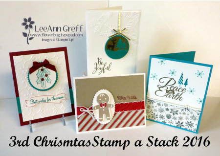 Christmas stamp a stack #3