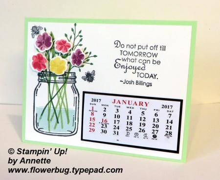 Annette's Calendar